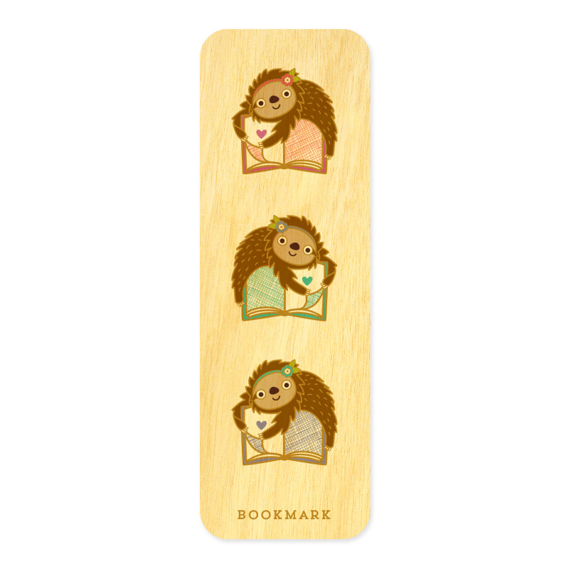 Book Sloth • Mini Bookmark