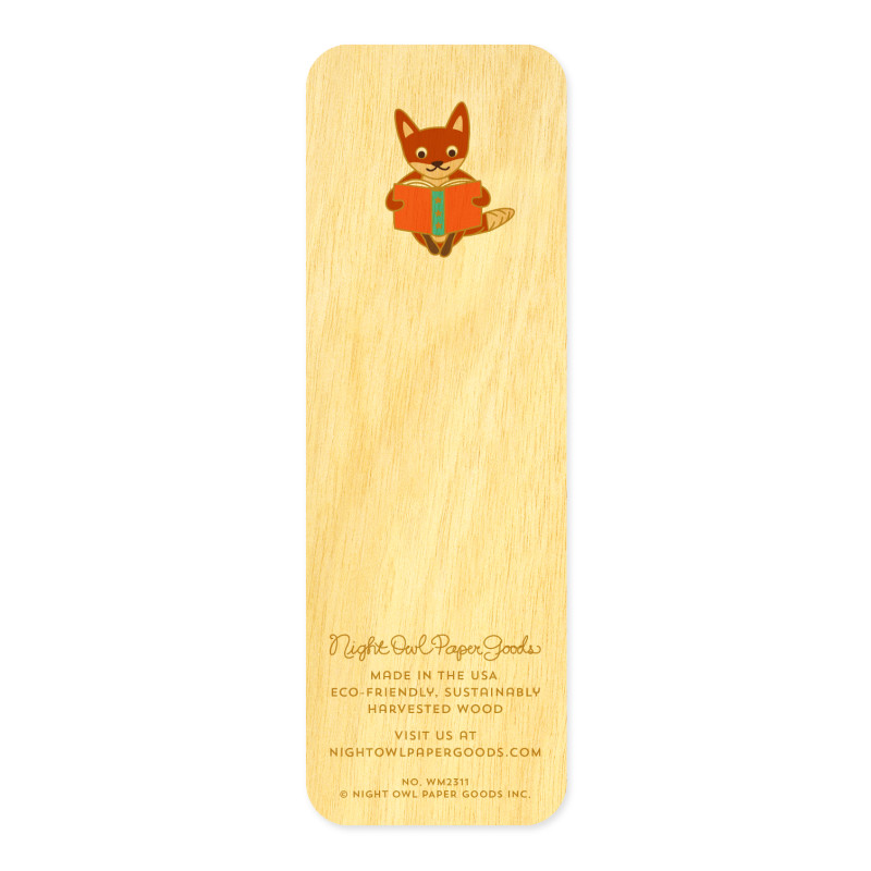 Foxy Fables • Mini Bookmark