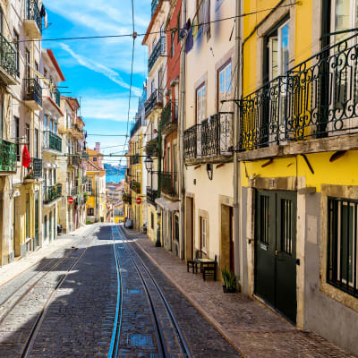 Lissabon og Porto