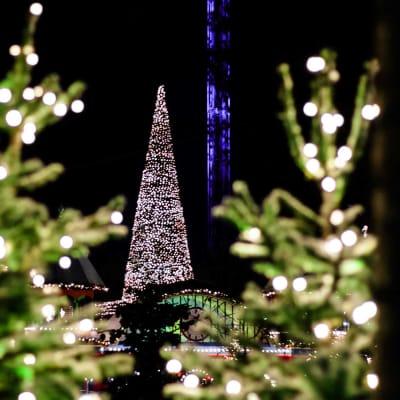 Julemarkeder i København, Tivoli og på Bakken
