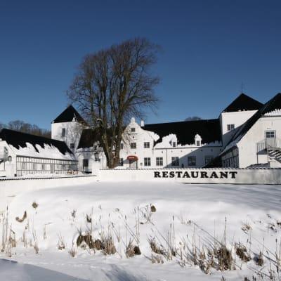 Jul på Vraa Slot i Nordjylland