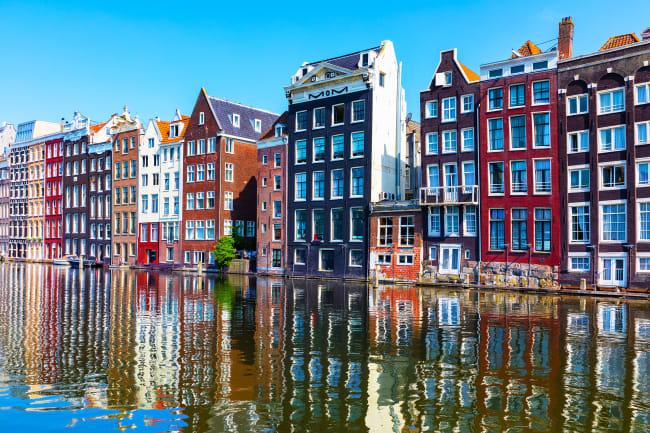 Ombordstigning i Amsterdam