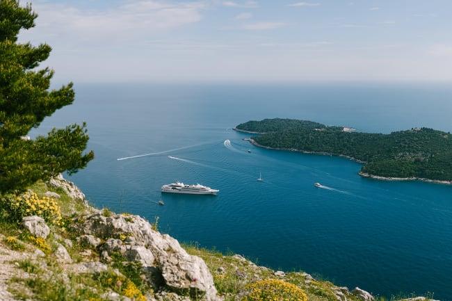 Udrejse og Makarska