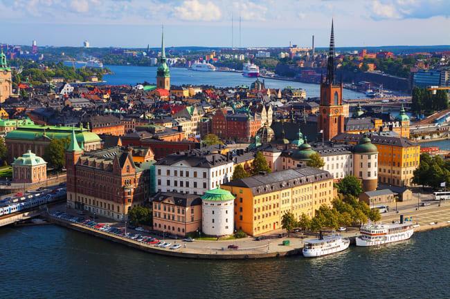 Byrundtur i Stockholm