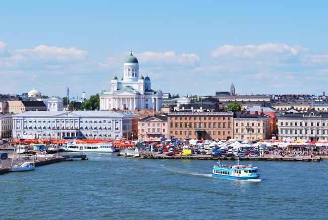 Byrundtur i Helsinki