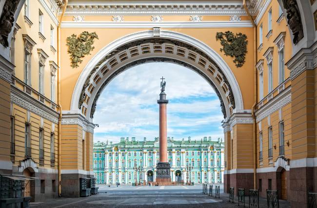 Skt. Petersborg – Nevskij Prospekt – Eremitagen