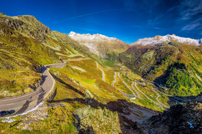 Grimselpas og Zermatt