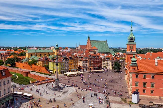 Poznan og Warszawa
