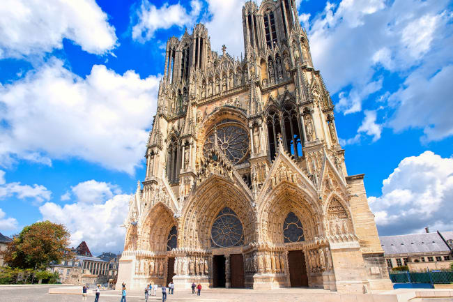 Kroningsbyen Reims