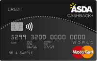 Asda Cashback Plus Credit Card