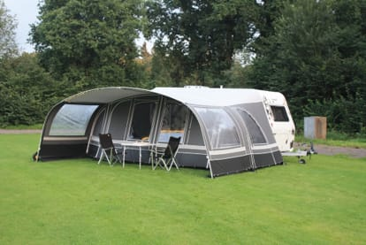 picture of a combi awning on a caravan