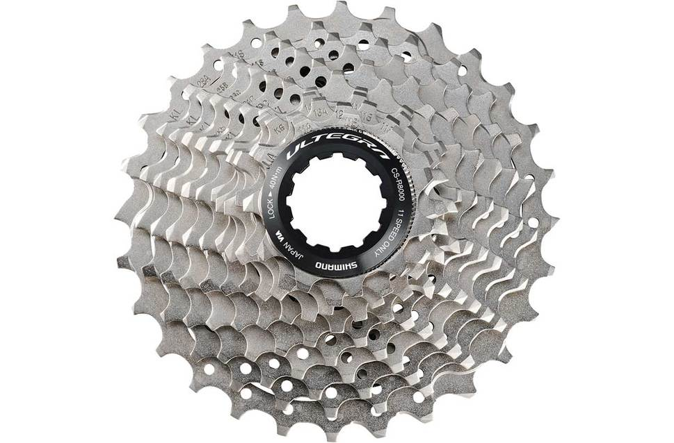 Picture of Shimano bicycle rear cassette