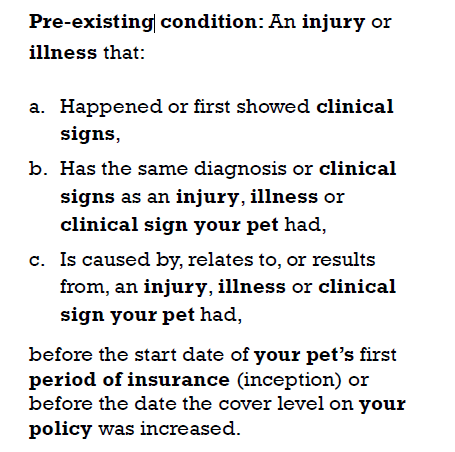 Picture of Scratch and Patch pre-existing condition definition