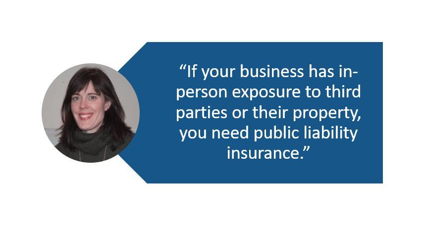 Quote who needs public liability insurance