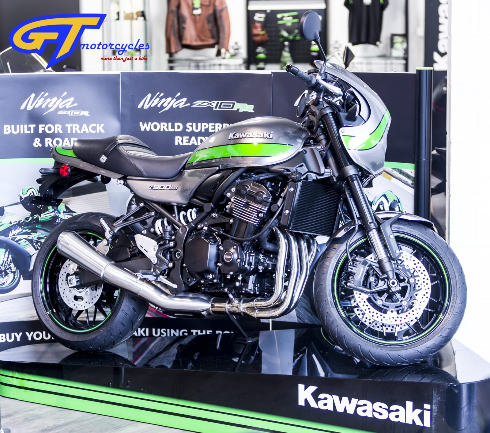 picture of a Kawasaki Z900 Cafe Racer