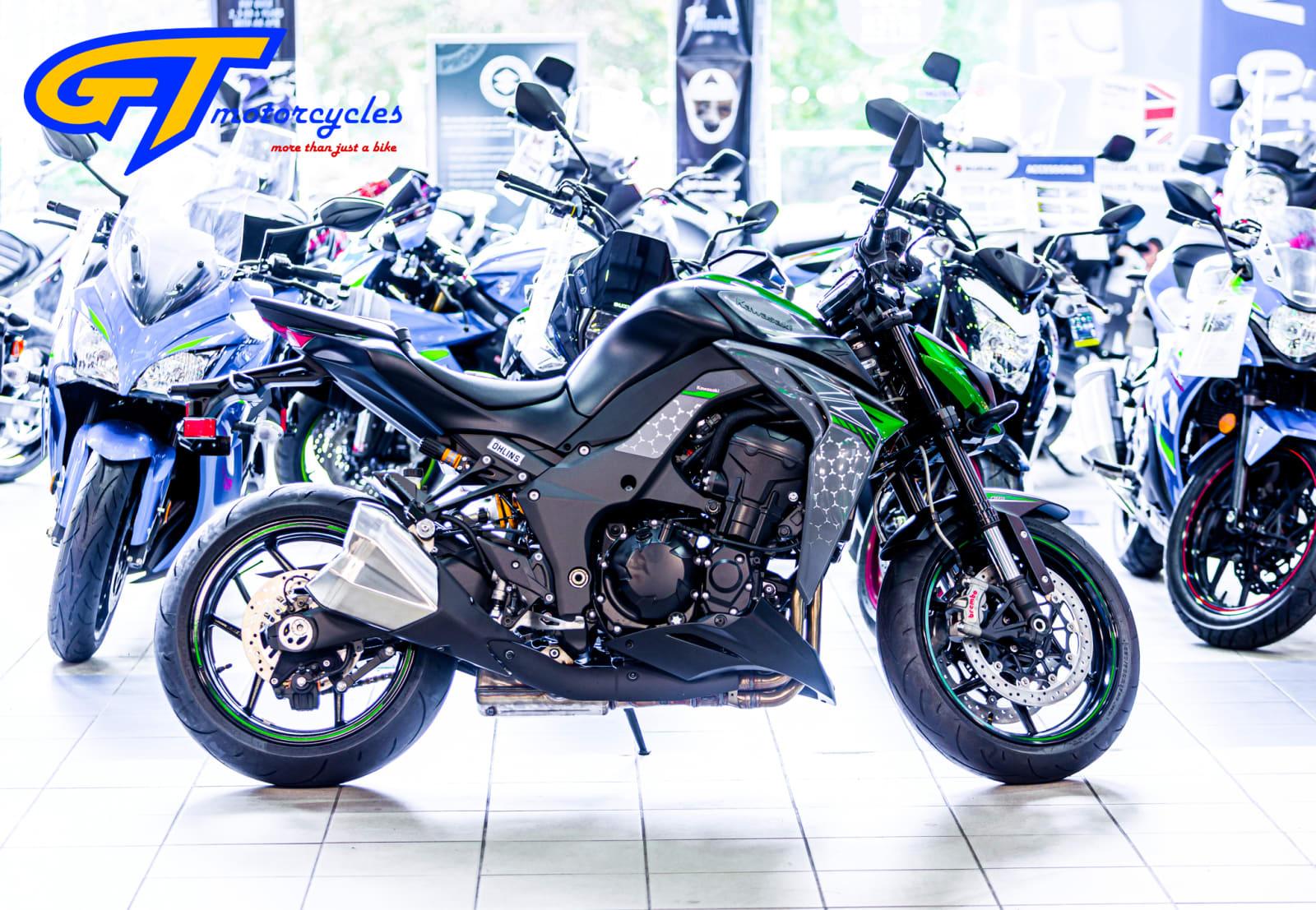 picture of a Kawasaki Z1000R