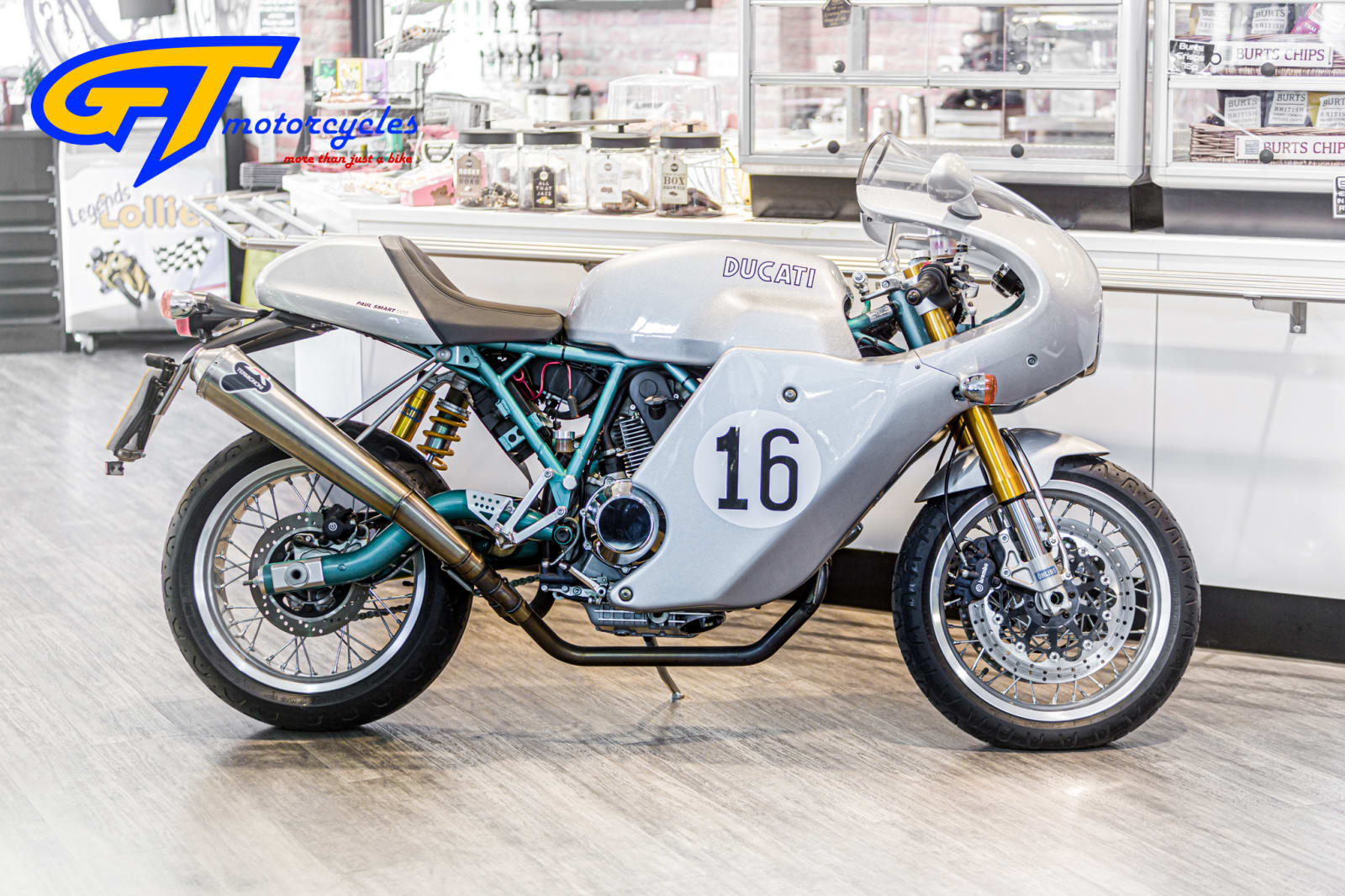 picture of a Ducati Cafe Racer