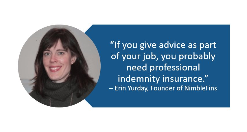 Quote who needs professional indemnity insurance