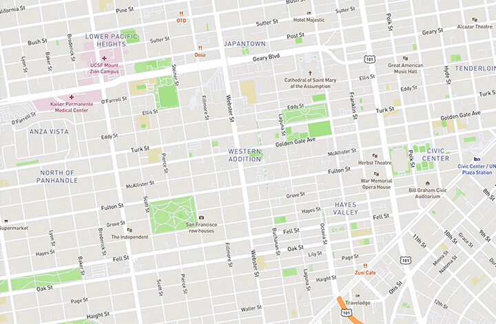 Image of a map theme from Mapbox
