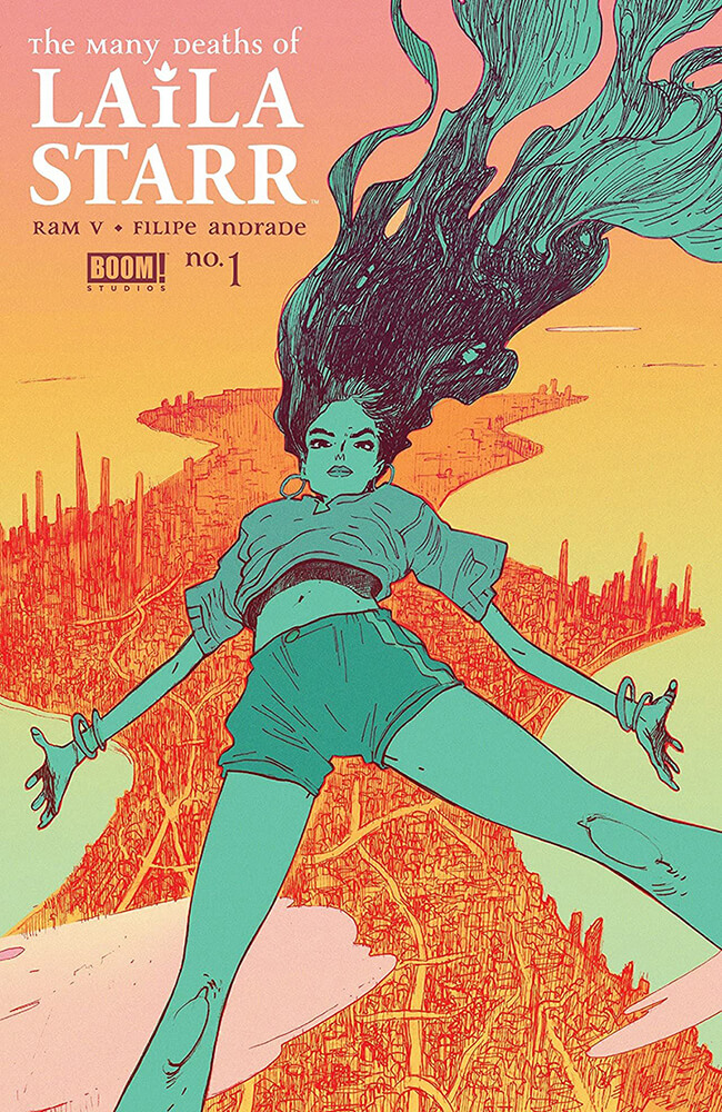 Cover of Many Deaths of Laila Starr