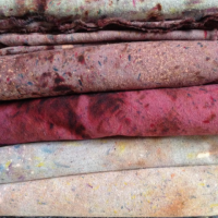 Hand-dyed, One-of-a-kind Neckties, Kathrine Zeren