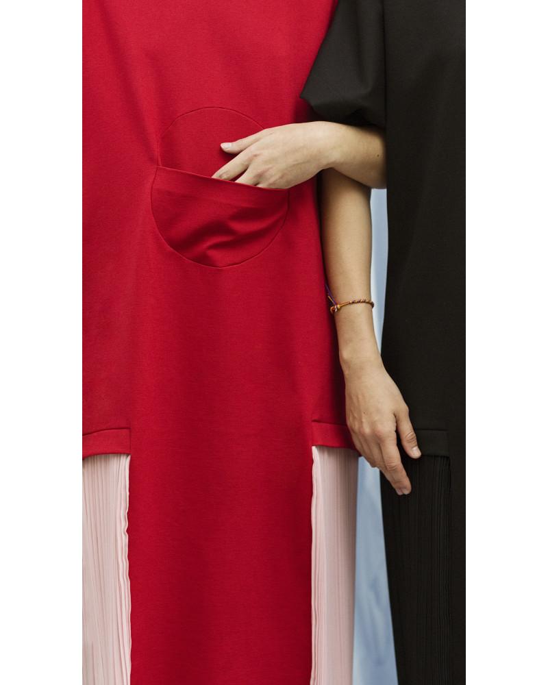 Albert Dress in Red, Horizon, Allergic