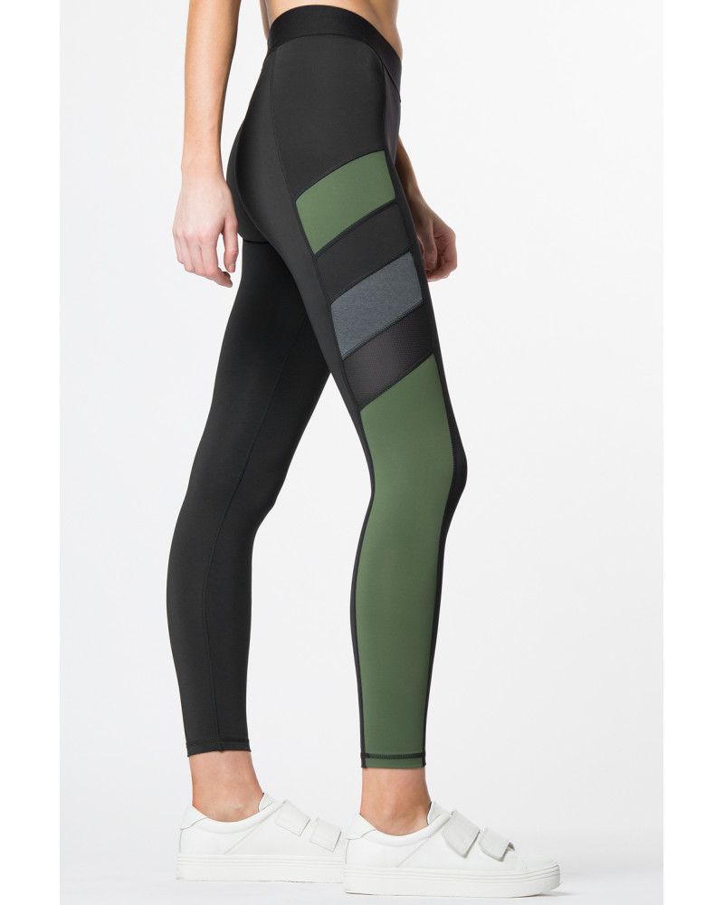 AMANDA LEGGING, Mixed Media Batch/04, ENA APPAREL