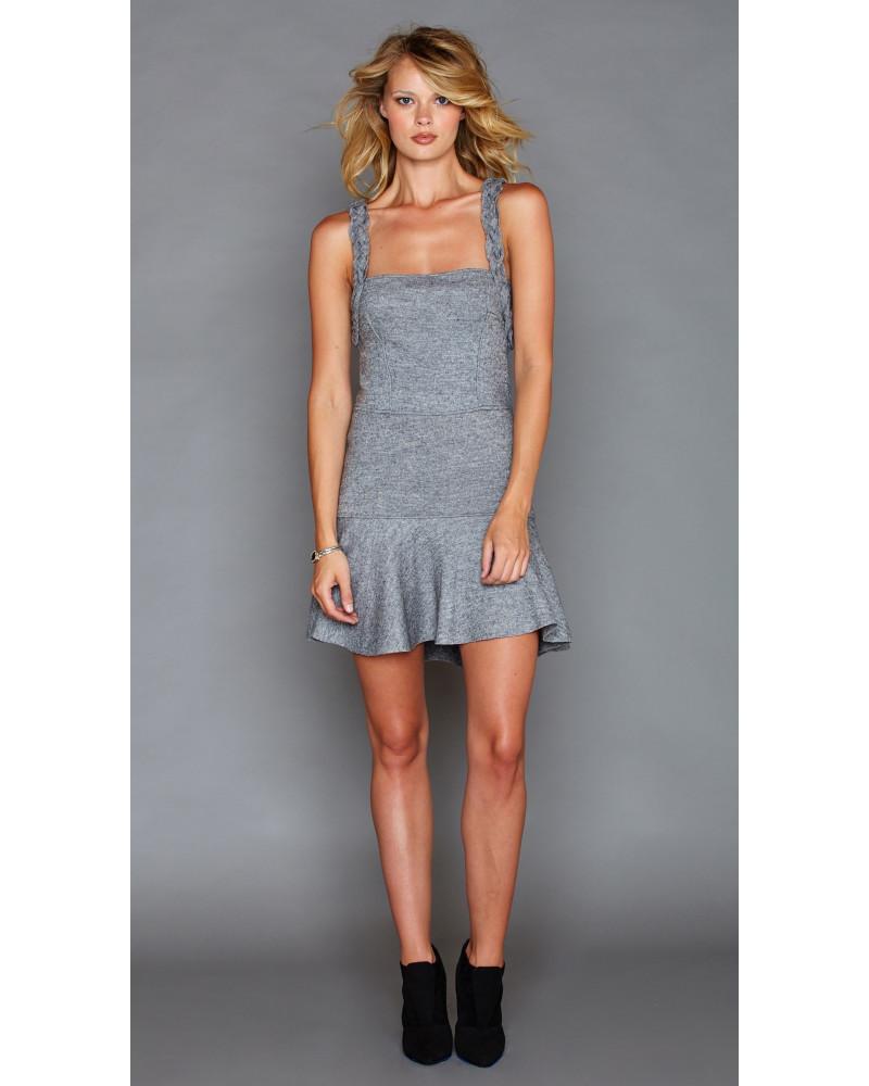 Adriana Grey Dress, FALL- WINTER 2016, Graciela Rivas