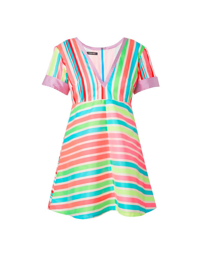 Mixed Stripe Dress, Wild Child, Meghan Hughes