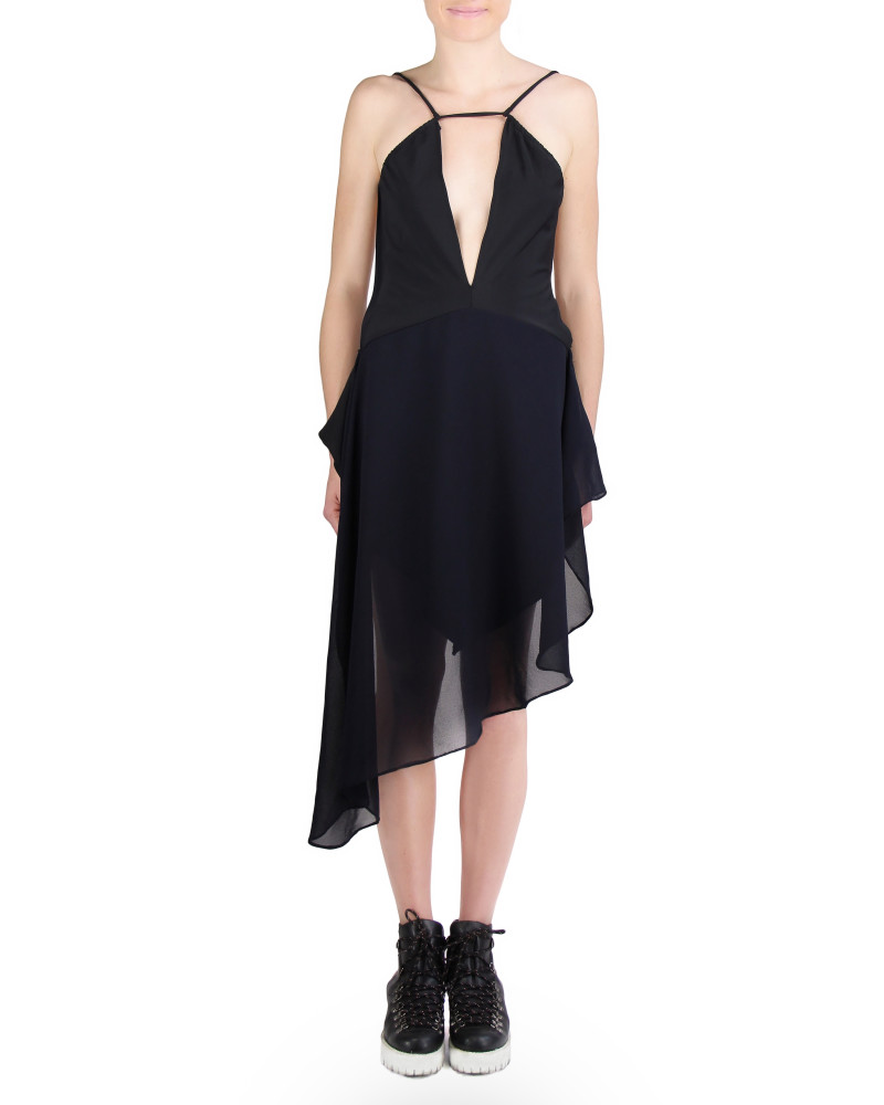 DeepBlue Dress, Minimalism, Rosina Mae