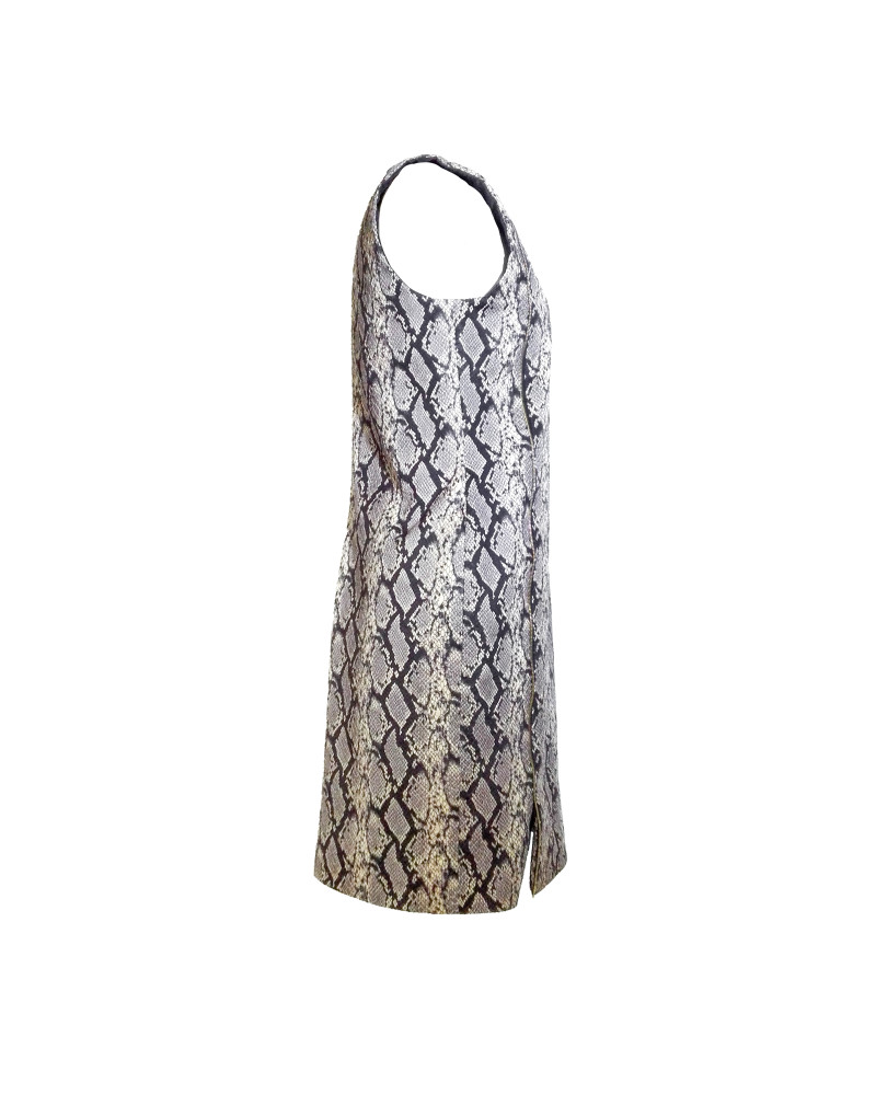 Snake Skin Dress, Second Skin Cubed RTW, Chanho Jang