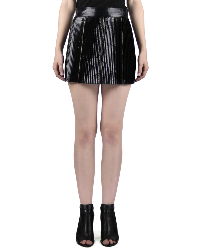 Pleated Mini Skirt, Modern Baroque RTW Part 1, Chanho Jang