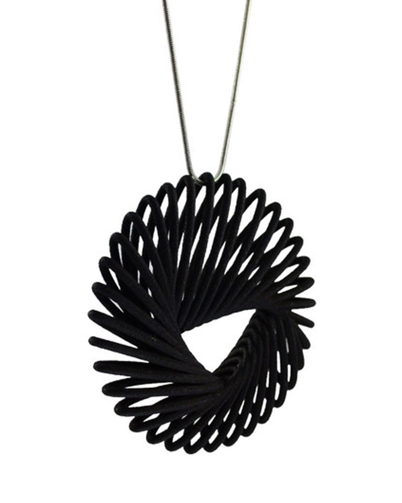 Spokes Necklace, Lines, House of Kezner