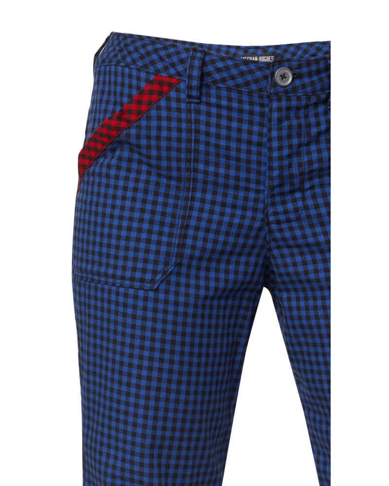 Blue Check Pants, Wild Child, Meghan Hughes