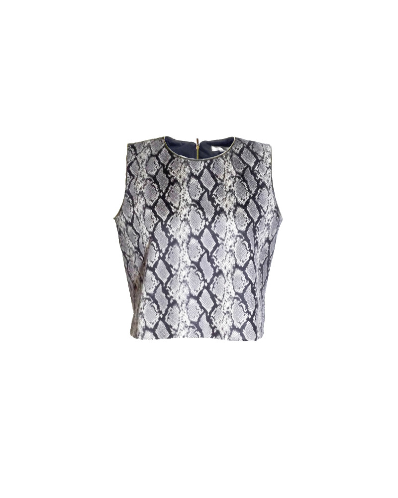 Snake Skin Top, Second Skin Cubed RTW, Chanho Jang