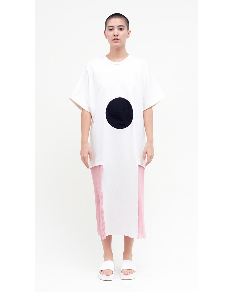 Albert Dress in White, Horizon, Allergic