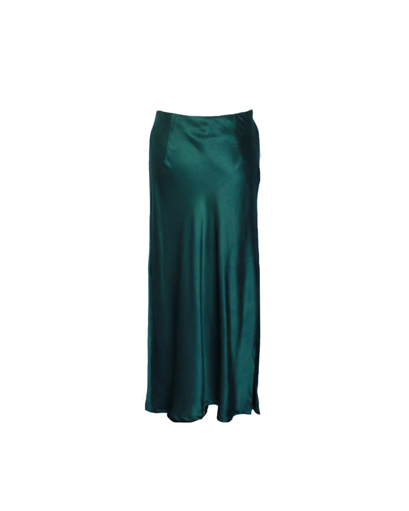 Emma Bias Silk Skirt I, FOR YOU, FERRAH