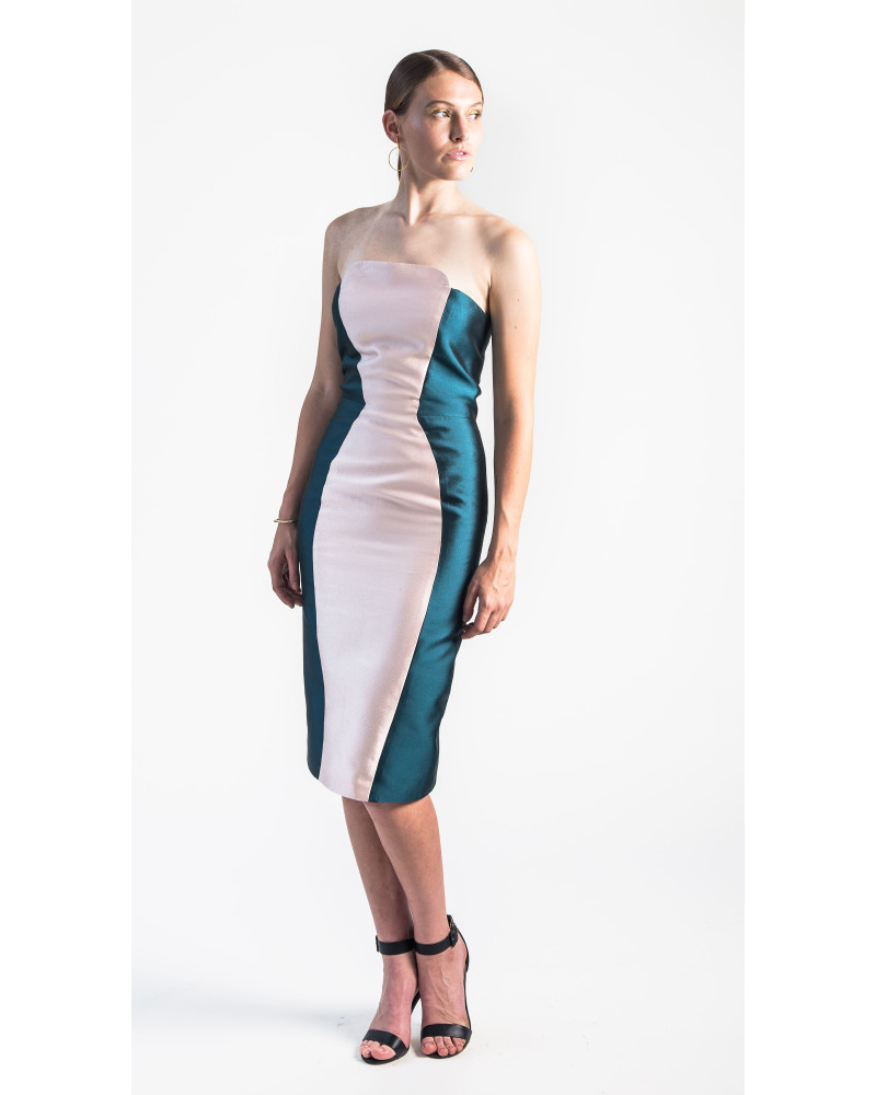 Haven Strapless Cocktail Dress, Holiday Glow, VARYFORM