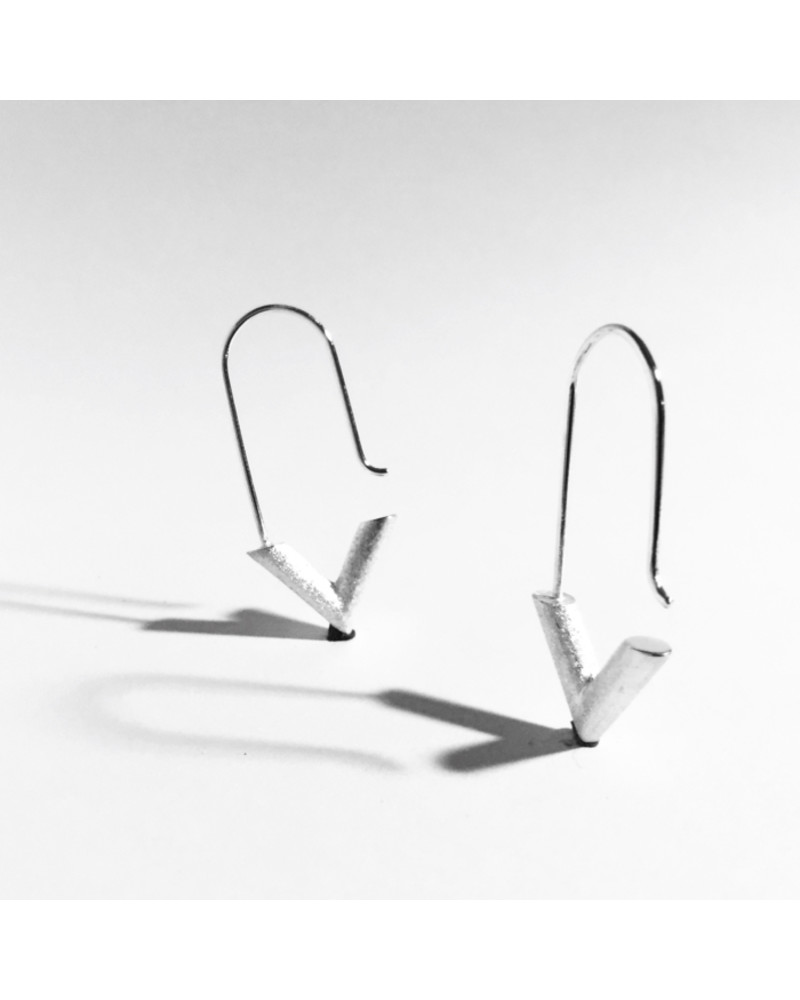 RM14 Earrings, L I N E A, René Moreta