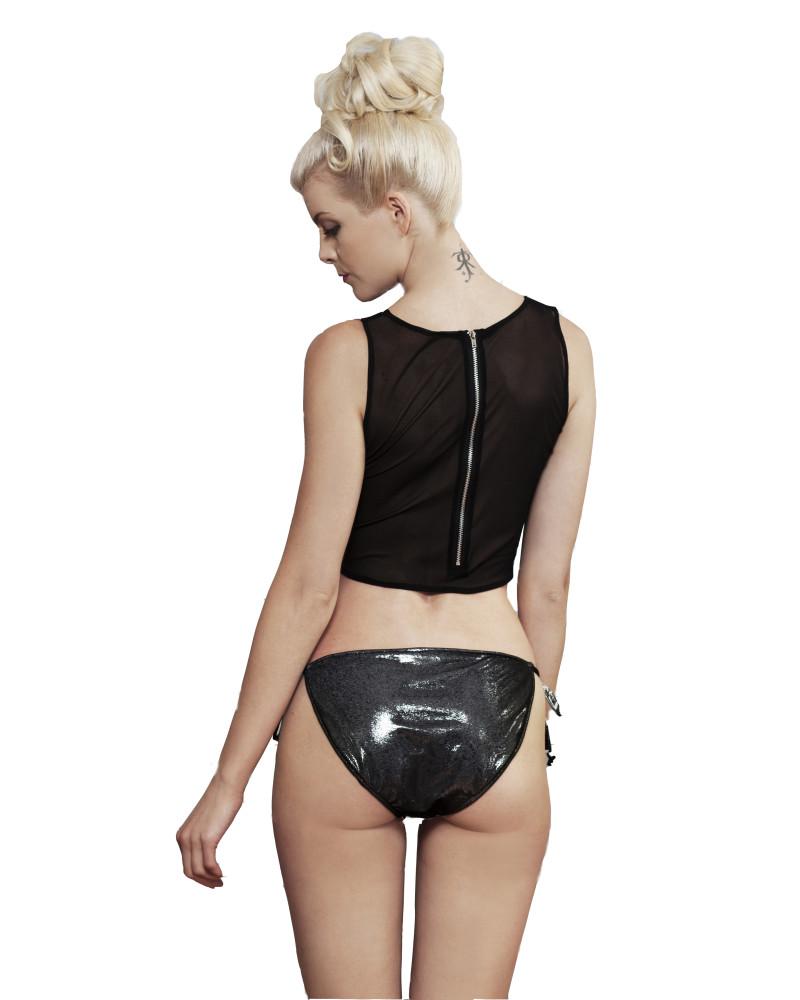 Luxe Bikini Top, HOLOGRAPHIC, Rosina Mae