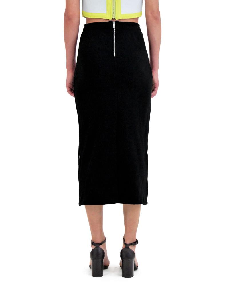 Black Midi Skirt, Spring/Summer 2015, Meghan Hughes