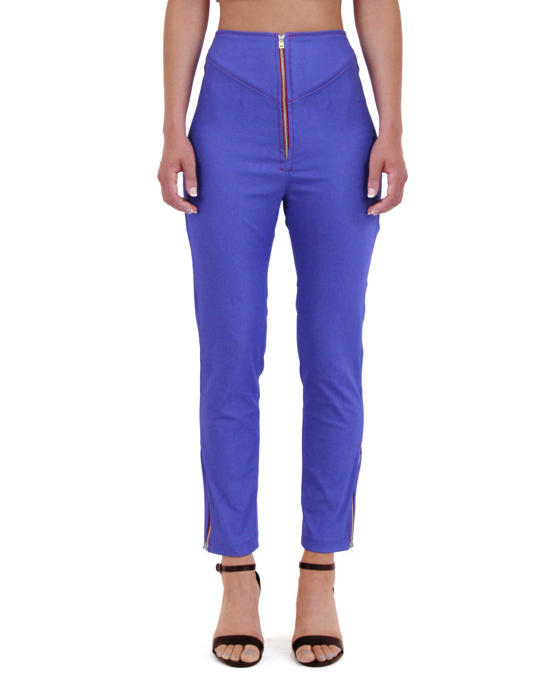 Hi-Waisted Cropped Pants, Spring/Summer 2015, Meghan Hughes
