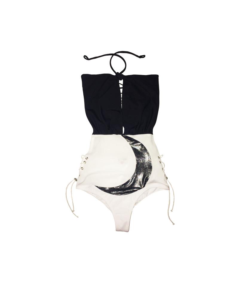 Crescent Moon-Suit Monokini, Lunar, Rosina Mae