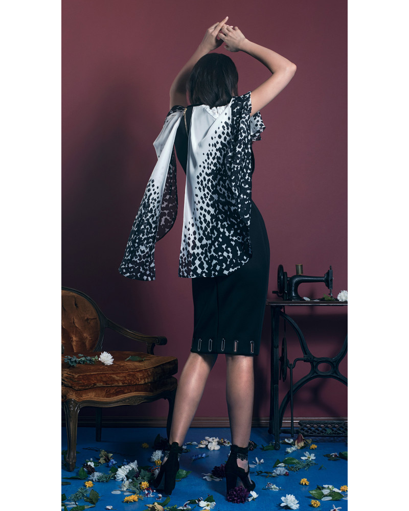 Raven Capelet Dress, Garden Party (Pt.1), Leetal Platt
