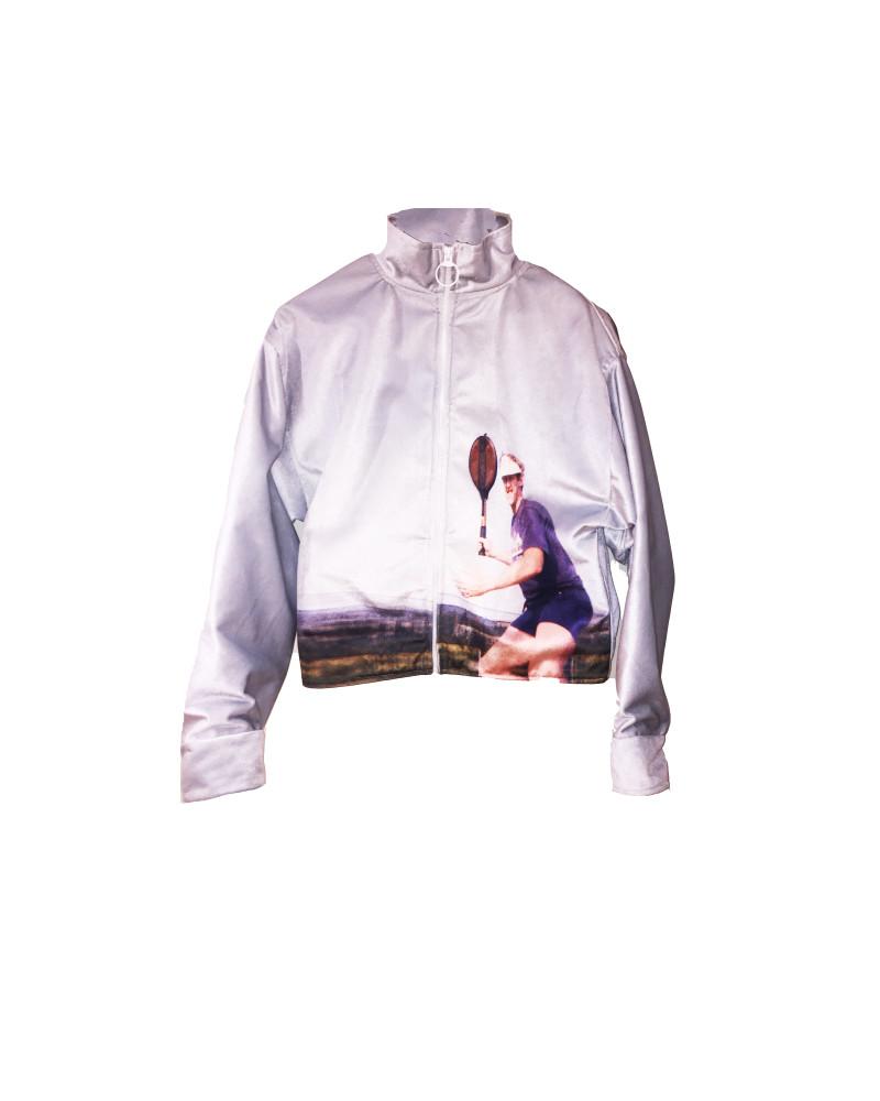 """Velvet """"Daddy"""" Full Zip Track Jacket, S/S18: FIFTEEN, LOVE!, Adam Dalton Blake"""