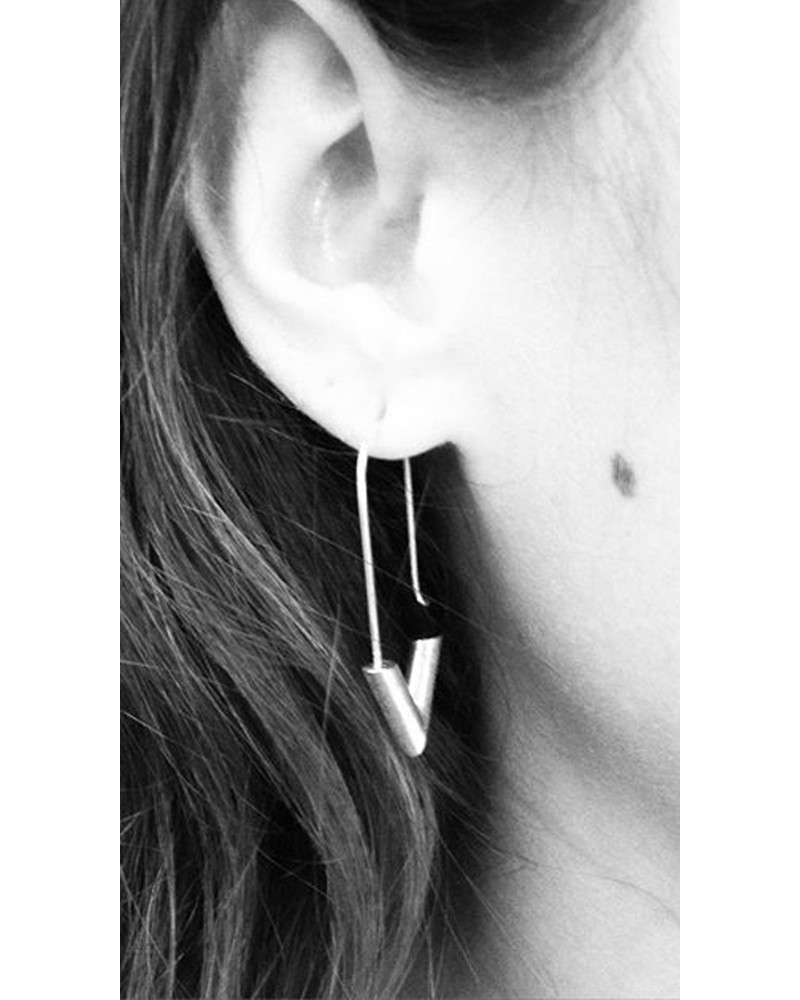RM15 Earrings, L I N E A, René Moreta