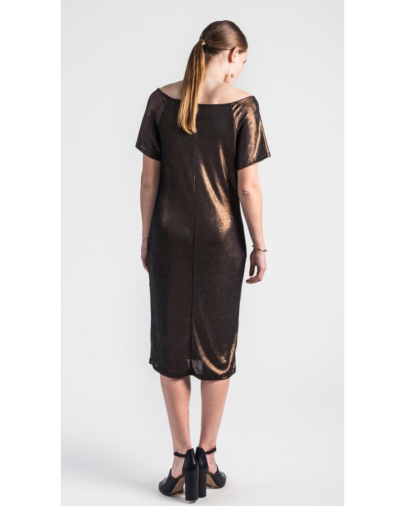 Rhea Ragan Sleeve Dress, Glow, VARYFORM