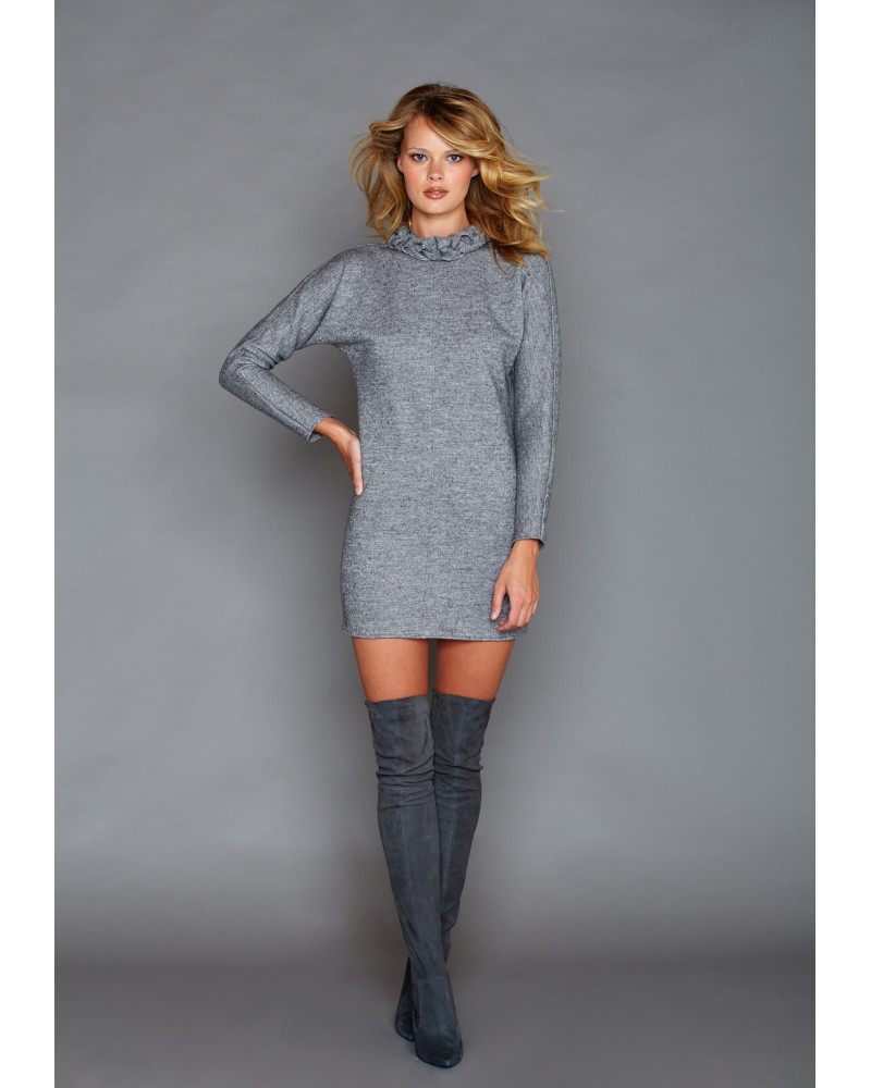 Cara Grey Dress, FALL- WINTER 2016, Graciela Rivas