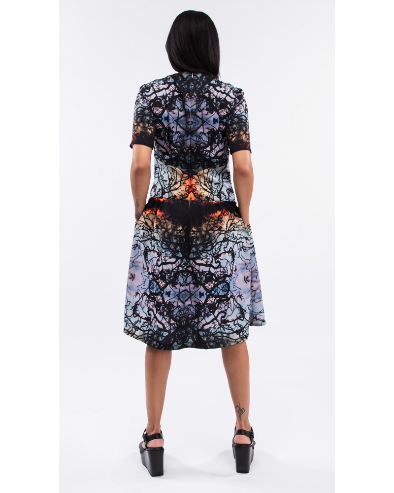 Sunset Cocktail Dress, Diamond in the Rough, Kaer