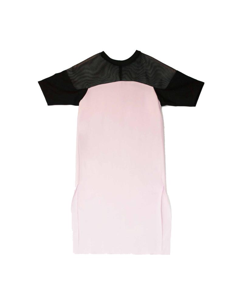Benjamin Dress in Pink, Rupture, Allergic